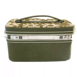 Vintage Samsonite Fashionaire Train case NO KEY